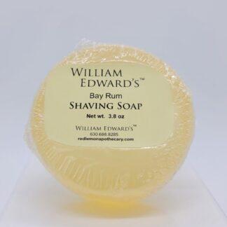 William Edward's™ Bay Rum Shaving Soap