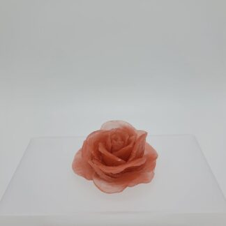 Hand-carved Rose Soap Red