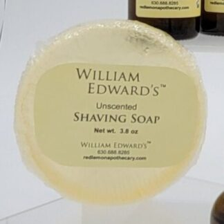 William Edward's™ Unscented Shaving Soap