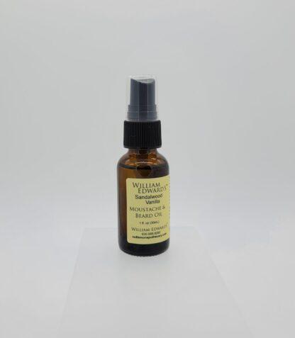 Sandalwood Vanilla Moustache and Beard Oil