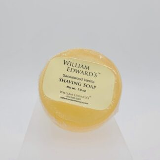 William Edward's™ Sandalwood Vanilla Shaving Soap