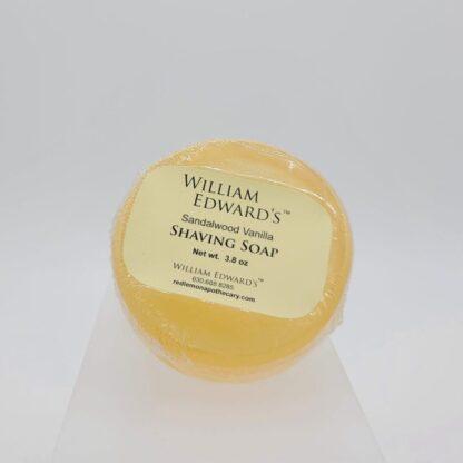 William Edward's™ Sandalwood Vanilla Shaving Soap