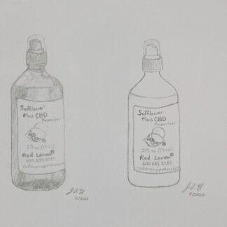 Moisturizer with CBD oil