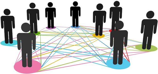 network community illustration
