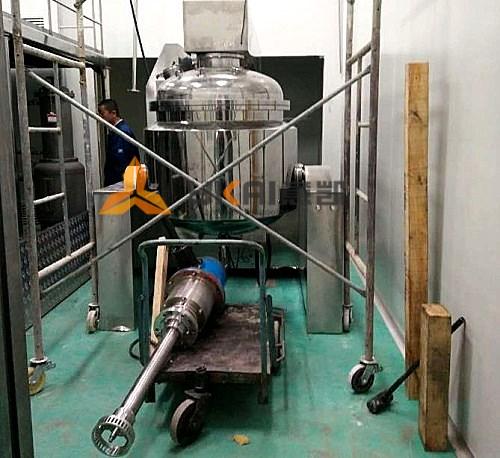 installation-and-commissioning-of-emulsifying-homogenizer