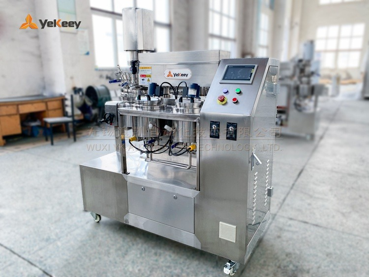 laboratory vacuum emulsifying mixer