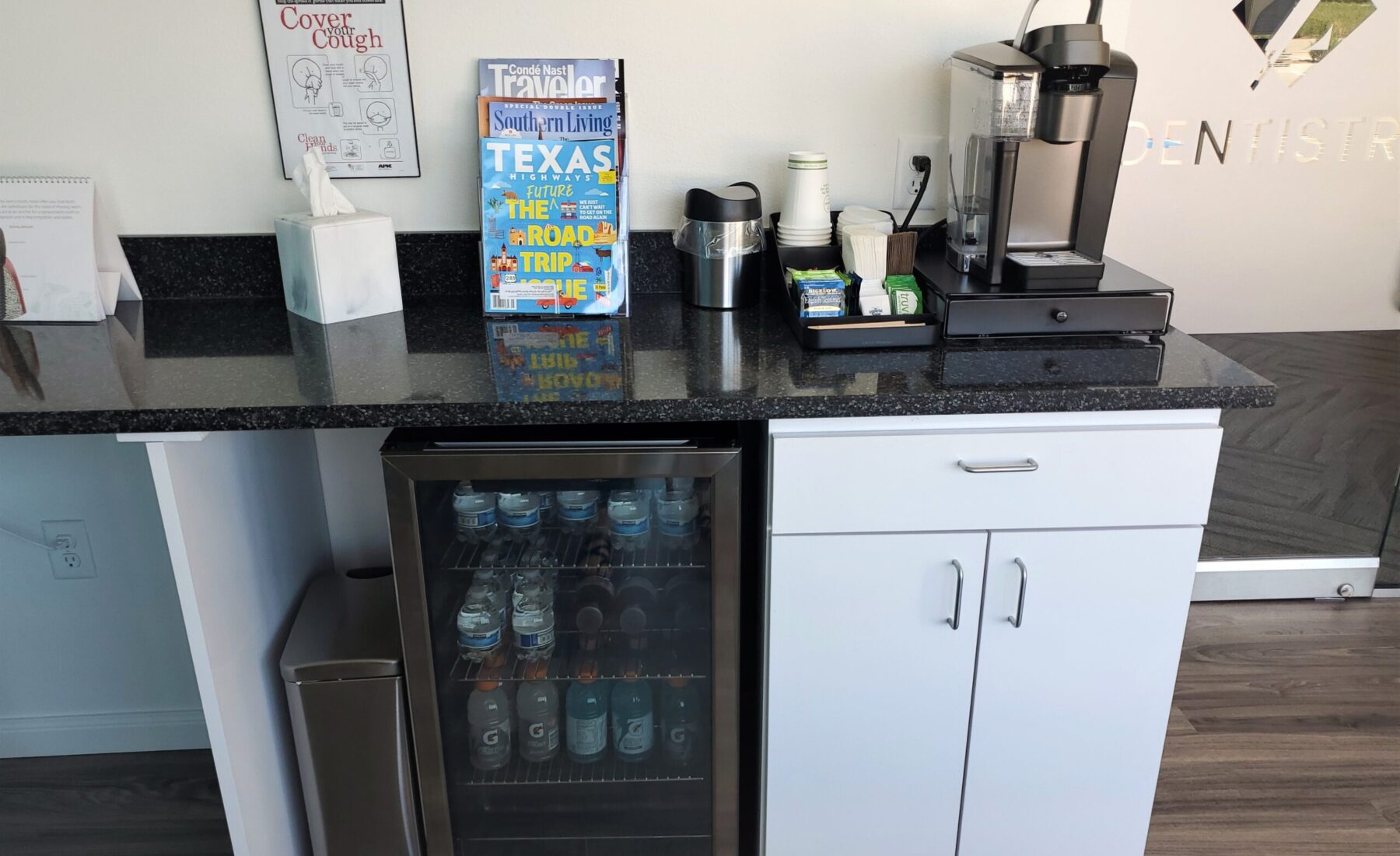Amenities at Z Dentistry, Fort Worth, TX