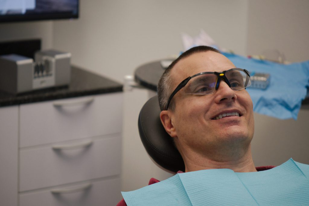 Happy Patient in Chair, General Dentistry, Z Dentistry