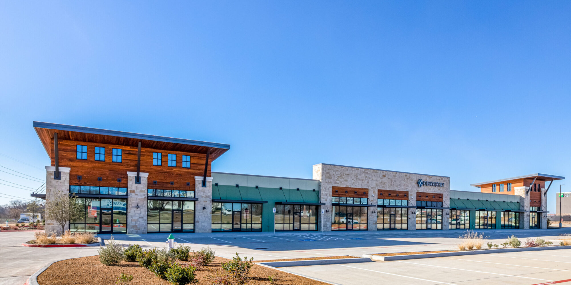 Z Dentistry in Chadwick Commons Shopping Center, Northlake, TX