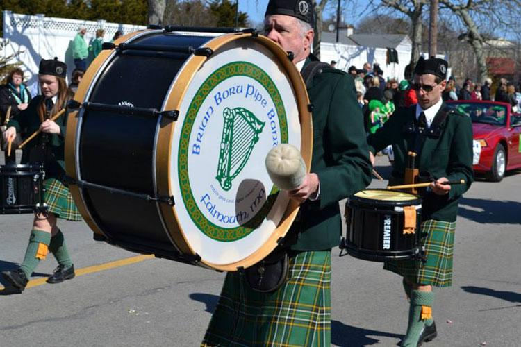 The drum line!