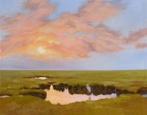 Marsh Scene KLM