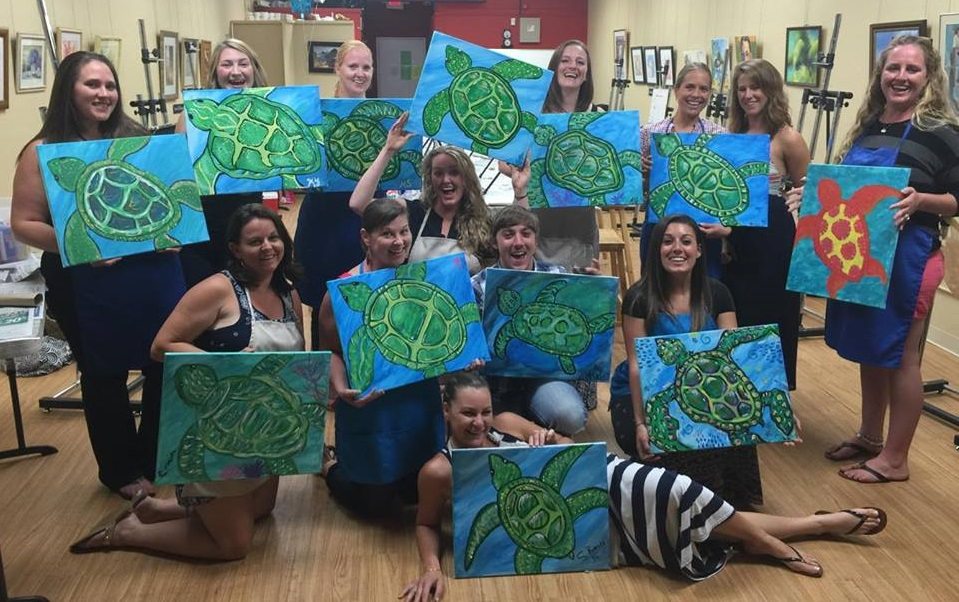 Sip & Paint with Jesse