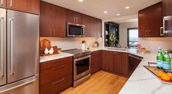 Downtown Contemporary Kitchen