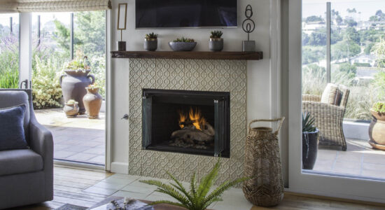 Point Loma Fireplace