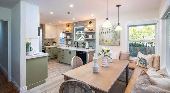 Green Serenity Kitchen
