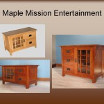 Maple Mission Entertainment Centers/Media Consoles