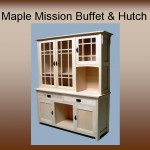 Maple Mission Buffet & Hutch