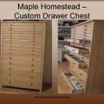 Maple Homestead Custom Chest Drawers
