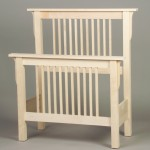 Mission Style Twin Headboard and Footboard