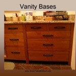 Cherry Mission Bath vanity - Natural stain 2