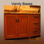 Cherry Mission bath vanity - Natural