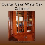 Quarter Sawn White Oak Cabinets - Early American Stain - 6