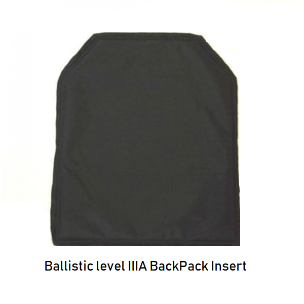 Ballistic LevelIIIA Panel Insert Backpack