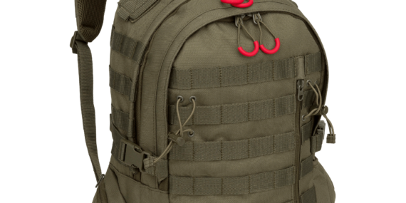 Tactical Green Bulletproof BackPack Level IIIA New School