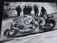 Colin Edwards artwork.