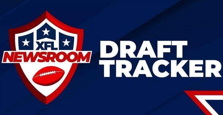 XFL Newsroom Draft Tracker