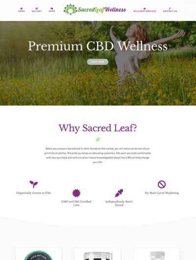 Sacred Leaf Wellness