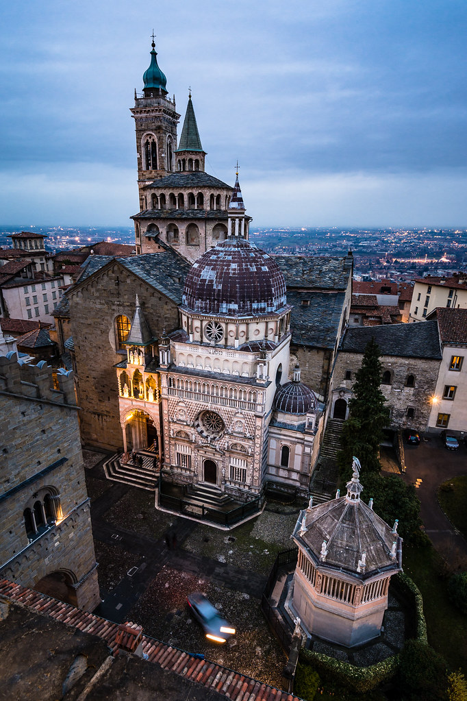 """Bergamo, and especially """"Citta Alta"""" is a wonderful Italian town. If you ever have a flight to Bergamo because of its connection to Milano: take your time and visit Citta Alta!"""