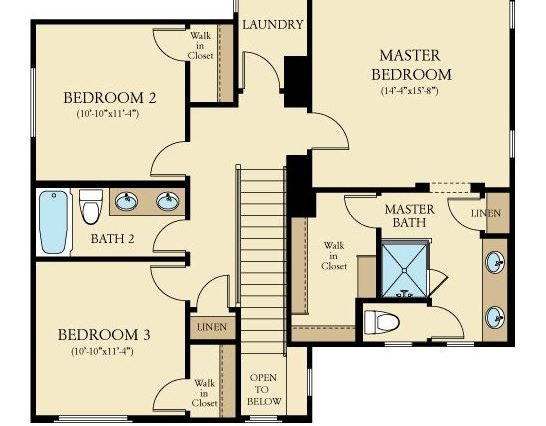 2247SF_second floor plan
