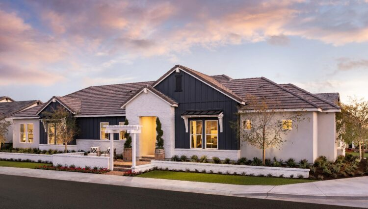 Farmhouse exterior Surprise Arizona