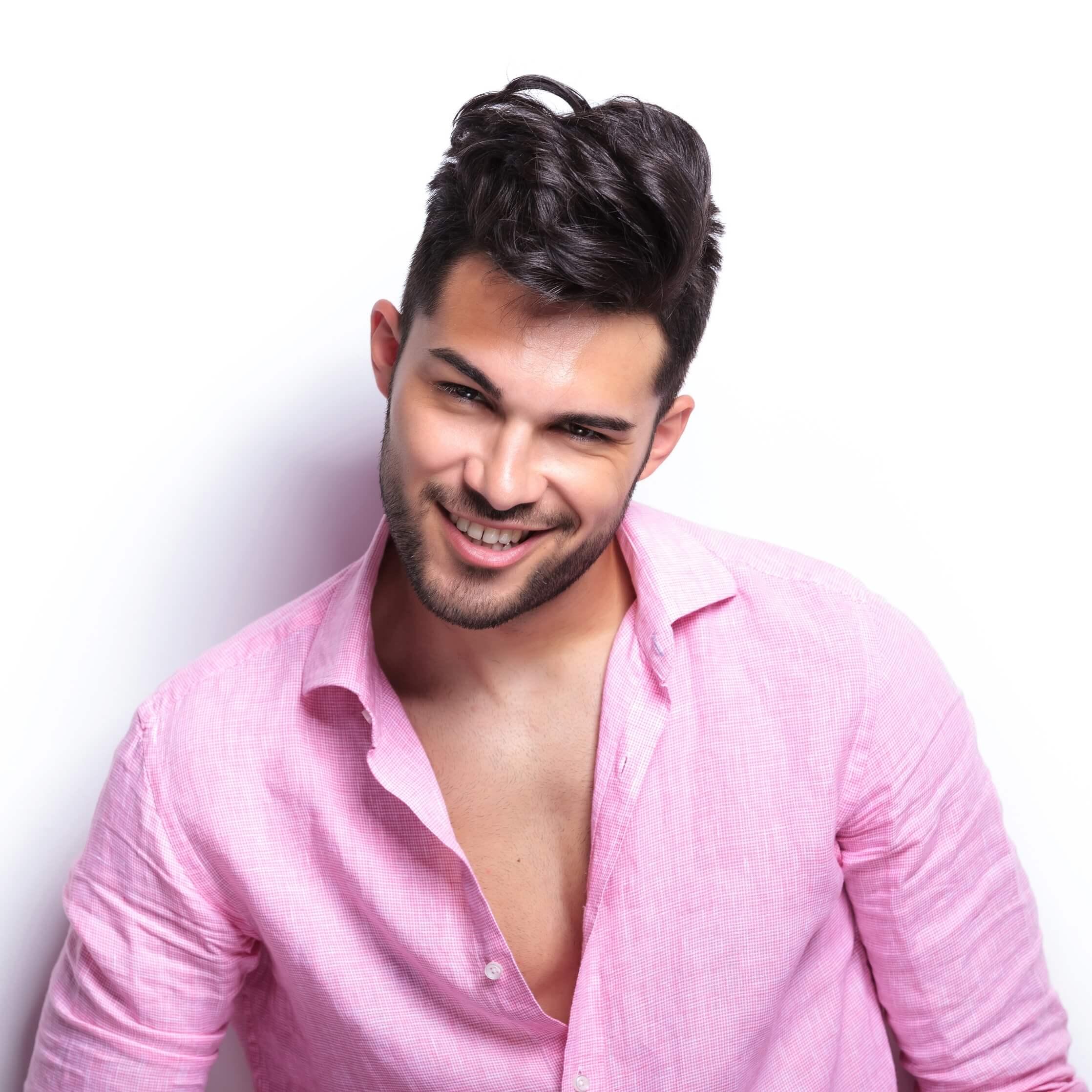 Men's Facials and Grooming