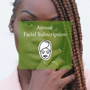 ANNUAL FACIAL SUBSCRIPTION (12 Facials)