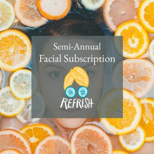 SEMI-ANNUAL FACIAL SUBSCRIPTION (6 Facials)