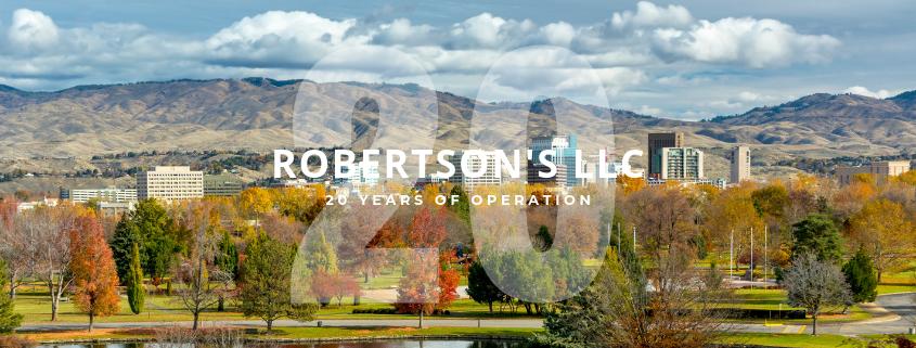 Robertson's Celebrates 20 Years