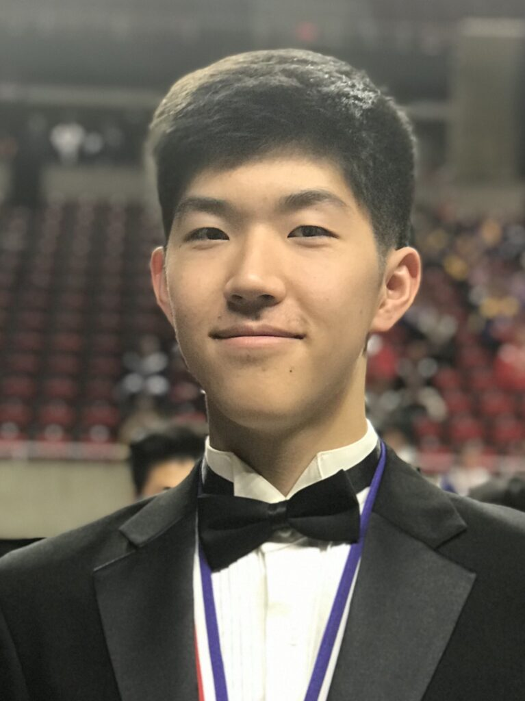 Yihoon Shin Central Iowa Symphony 2019 Young Artist Winner