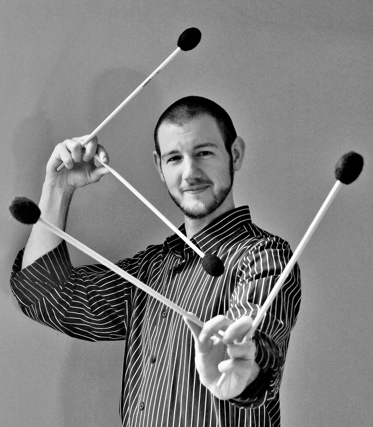 In New Territory featuring Daniel J. Krumm, percussion