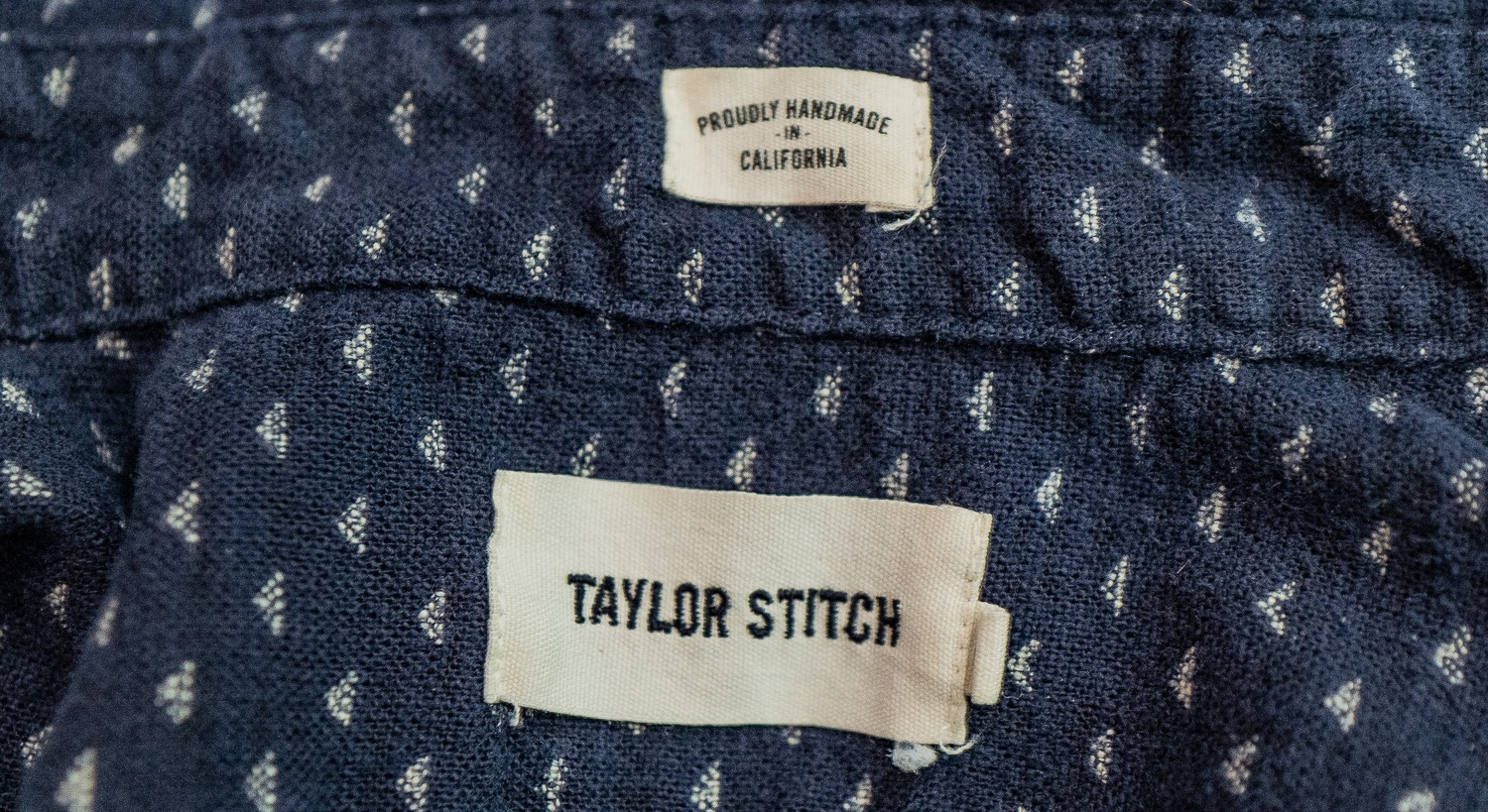 Taylor Stitch Jack Shirt Made in California