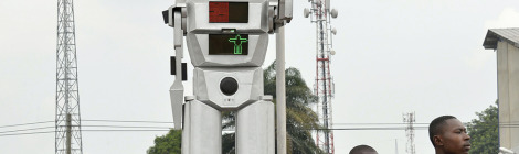 Robots Direct Traffic in DRC's Capital