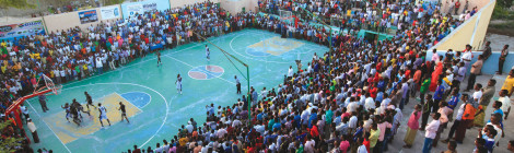 Night Basketball Returns to Mogadishu