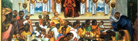 King Tenkamenin Ruler of Ancient Ghana