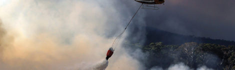 South African Air Force Fights Wildfires