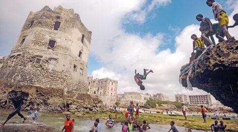 An Oasis of Fun in Somalia