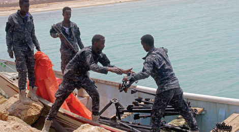 Puntland Forces Intercept Weapons