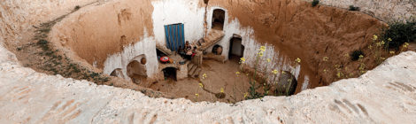 Last Residents Hold on in Tunisia's Underground Houses
