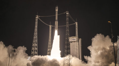 Morocco Launches First Surveillance Satellite