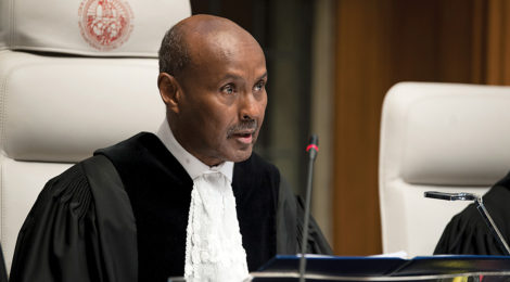 Judge Becomes First Somali to Lead International Court